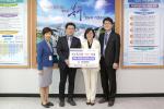부산 북구 센트럴 병원, 개원 축하 쌀화환 이웃돕기 기탁