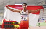 조흐리, 인도네시아 선수 첫 육상선수권 메달