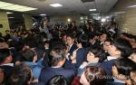 """민주당, 한국당 고발 예정 """"국회선진화법에 따르면 징역 5년"""""""