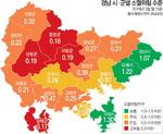 경남도내 읍·면·동 64%, 인구 감소로 '소멸 위험'