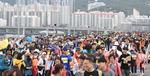기분 좋게 바닷바람 불던 날…광안대교 걸은 1만5000명 시민