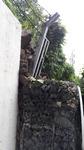 주말 폭우에 승학산 절개지 또 '와르르'