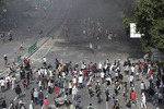 인니 대선불복 시위 격화…사상자 200여 명