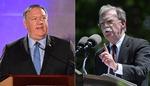 미국 외교(폼페이오)·안보(볼턴) 투톱 집안싸움?