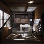 [아침의 갤러리] Structure(Akita) 18-13 - 김산 作