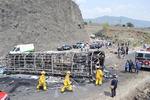 멕시코서 버스·트럭 충돌…최소 21명 사망