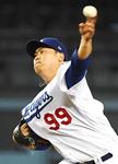 류현진 MLB닷컴 '이달의 팀' 선발투수
