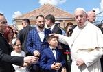 프란치스코 교황, 루마니아 찾아 집시족 위로