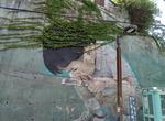 56m 어부 · 20m 아이…또 다른 거리예술 대형 그라피티도 눈길