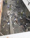 맨해튼 헬기 불시착…9·11악몽에 뉴욕시민 '깜짝'