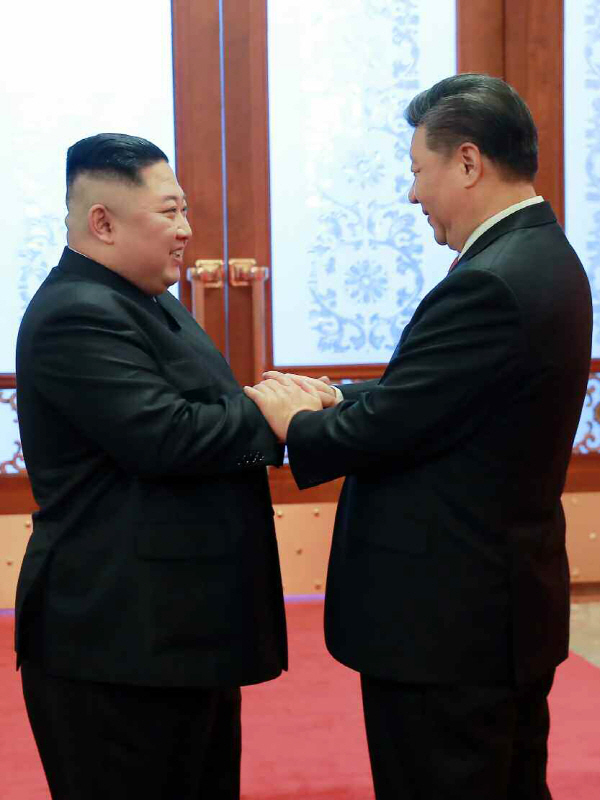 """시진핑, 北노동신문에 기고…""""한반도문제 대화·협상 진전 추동"""""""