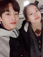 """김민석 박유나 열애설 30분 만 초고속 부인 """"친한 동료 사이일 뿐"""""""