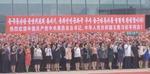 북한, 영접행사만 두 차례…평양시내 1만 군중이 환영 구호