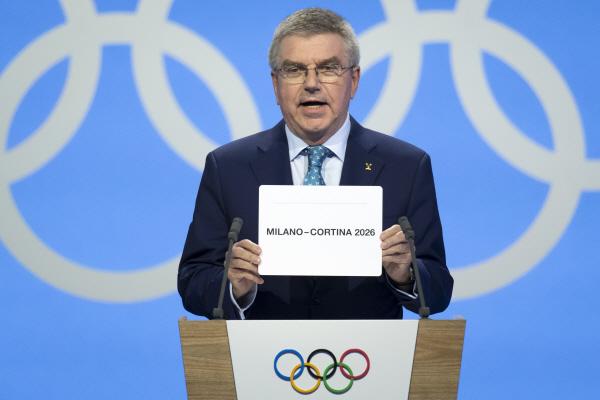 이탈리아 밀라노·코르티나 담페초 2026년 동계올림픽 개최 확정