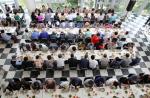 경남정보대학교 사랑의 봉사센터, 보훈가족 초청 '사랑의 삼계탕 나누기 행사' 펼쳐
