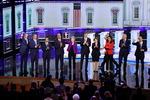 미국 민주당 대선 주자들 첫 TV토론
