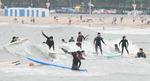 송정해수욕장은 서핑의 천국