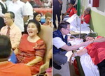 필리핀 '사치 여왕' 이멜다 구순잔치 집단식중독, 261명 병원에 실려가