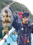 [출조 길라잡이] 거제에 뜬 오징어의 제왕, 무늬오징어