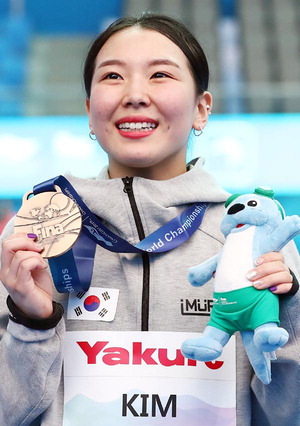 다이빙서 메달 딴 김수지, 한국 수영 새 역사