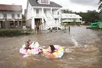 미국 남부 상륙 허리케인 위력 약화