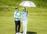 고진영·이민지, LPGA 팀매치 3언더 '굿 스타트'