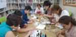 문화예술이 있는 남항작은도서관, 레진아트 운영