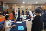 건협 부산검진센터, 롯데백화점 광복점 건강캠페인 실시