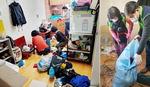[사회복지관 지역맞춤 사업] 우린 소외층 집안 청소정리 도우미이자 말벗