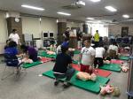 와이즈유, '생명 구하는 마법' 심폐소생술 배우다