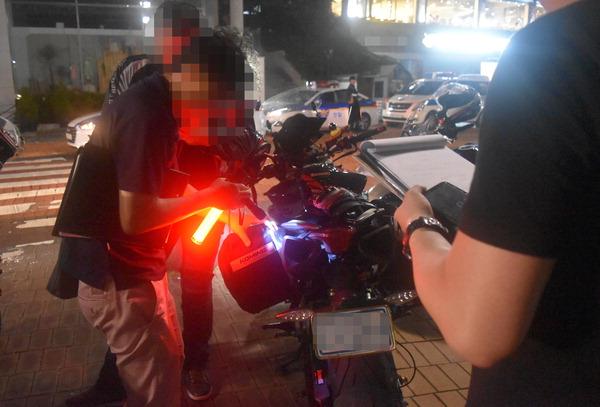 훔친 오토바이 타고 만취운전…떼지어 한밤 굉음 질주