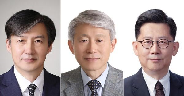 법무 조국·과기 최기영·여성 이정옥·농림 김현수…개각 발표