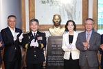 '임시정부 초대 경무국장' 백범 김구 흉상 제막식