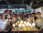 인제대 DIY 조명 만들기, 외국인노동자와 함께 해