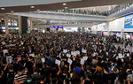 시위대 홍콩국제공항 점령…여객기 운항 전면 중단