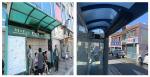 부산 중구 고지대'버스승강장 냉방기'설치