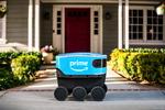 아마존 자율주행 로봇, 고객에 소포배송 시작