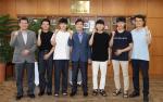 한석정 동아대 총장, 각종 공모전에서 수상한 학생들 격려