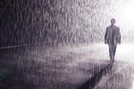 빗속을 걸어도 젖지 않아…마법 같은 공간 '레인룸' 부산 상륙