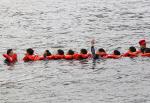 '어떤 상황에서든 바다에서 생존 · 구조 위한 해양훈련'
