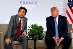 """아베 """"북한 미사일 유엔 결의 위반"""" G7서 트럼프와 의견충돌"""