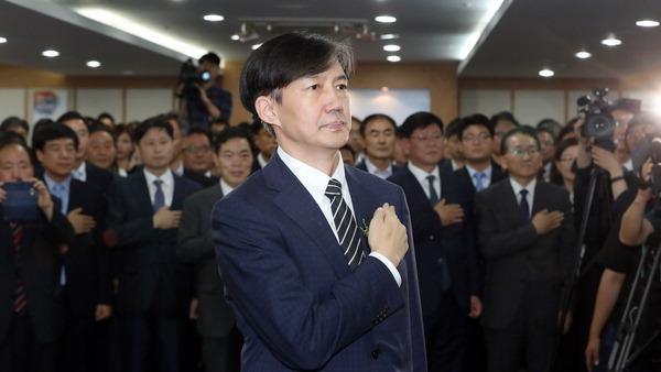 검찰 개혁 칼 가는 조국, 曺 가족수사 윤석열…전쟁 시작됐다