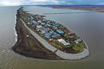 점점 사라져가는 알래스카 섬