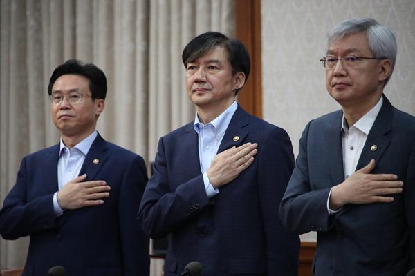 """""""조국 자택 11시간 압수수색, 2차례 추가 영장 발부 때문"""""""