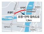 대동화명대교 김해접속로 7년째 '차일피일'