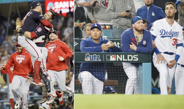 다저스 올 가을도 악몽의 계절…류현진 남느냐 떠나느냐