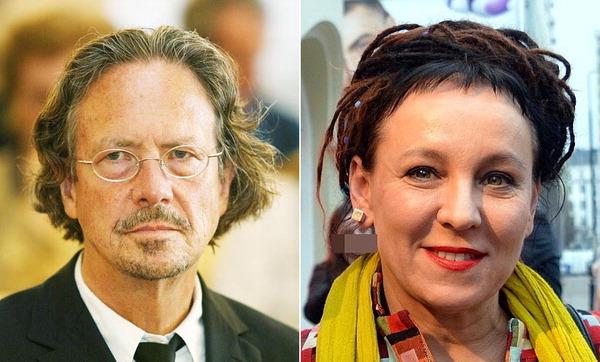 노벨문학상에 소설가 페터 한트케(오스트리아)·올가 토카르추크(폴란드)