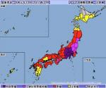 태풍 '하기비스' 일본 강타해 폭우 특별 경보 발령