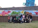 부산예술고등학교 학생 43명, 청소년 재능기부 봉사 활동