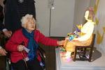 """고향 찾은 위안부 피해 이옥선 할머니 """"일본 사죄·배상 받아내야"""""""